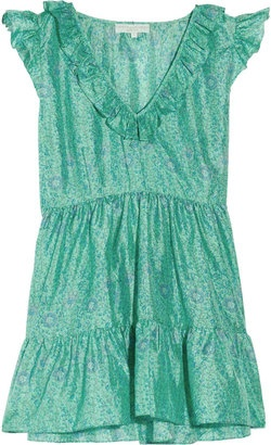 ShopStyle: Leaves of Grass Picwick floral-print silk tunic
