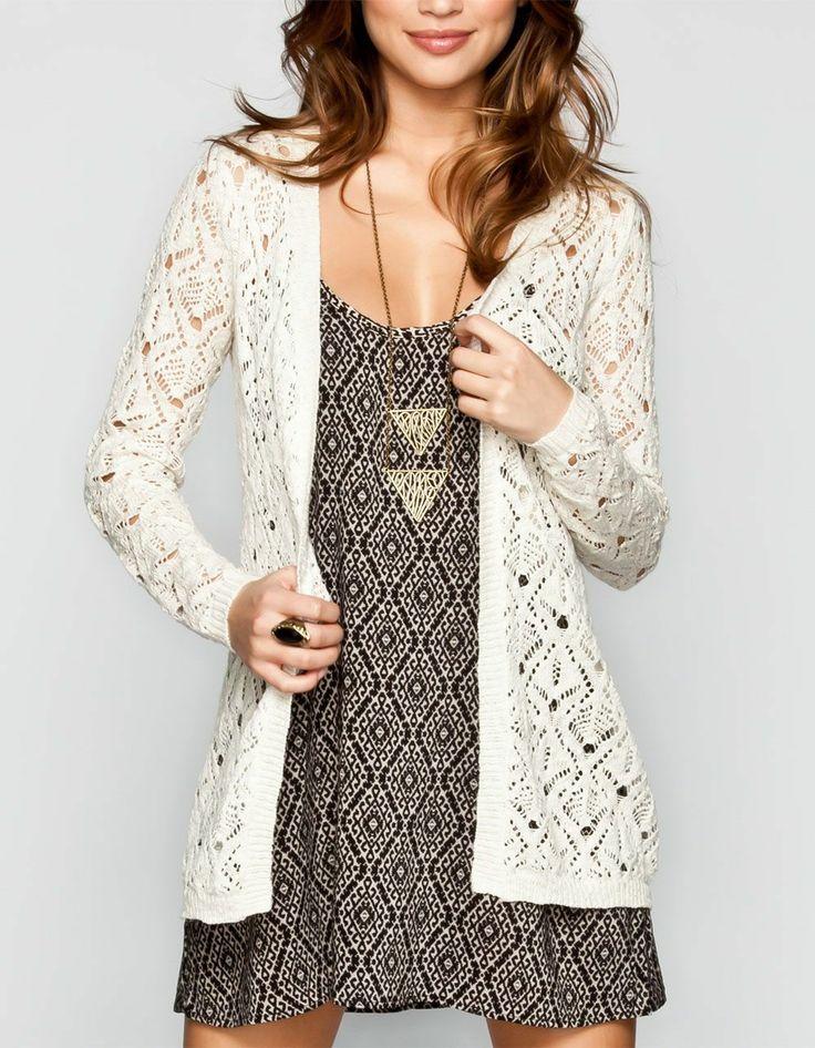 FULL TILT  Crochet Cardigan #tillys #fulltilt #sweaterweather