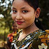 Mawlamyine, Myanmar female beauty