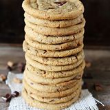 Sunday stack! These Brown Butter Toffee Chocolate Chunk Cookies are the perfect Sunday sweet! Click @twopeasandpod for the recipe link! http://www.twopeasandtheirpod.com/brown-butter-toffee-chocolate-chunk-cookies/