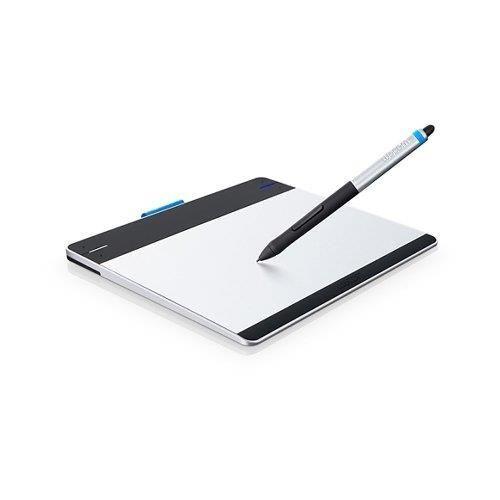 Diviértete desde el primer momento con esta Tableta gráfica Wacom Intuos Pen y Touch S New Vers (CTH-480S-S). Con la sensación familiar del lápiz Intuos en tu mano puedes editar fotos y crear obras de arte, bocetos, dibujos y colores de forma digital con la comodidad natural y la precisión de los pinceles y los lápices tradicionales. La superficie de la función multitáctil te permite aplicar zoom, desplazarte y navegar a tu antojo usando gestos intuitivos.