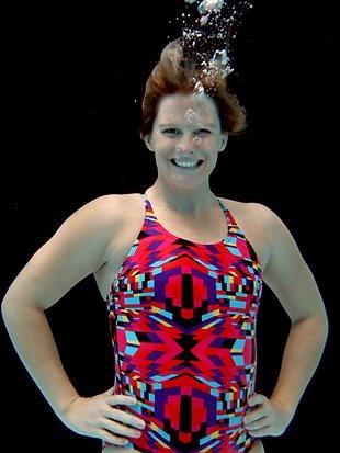 Leisel Jones, Australian swimmer and nine-time Olympic medalist.