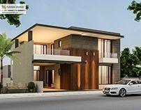 500 Yards House Elevation