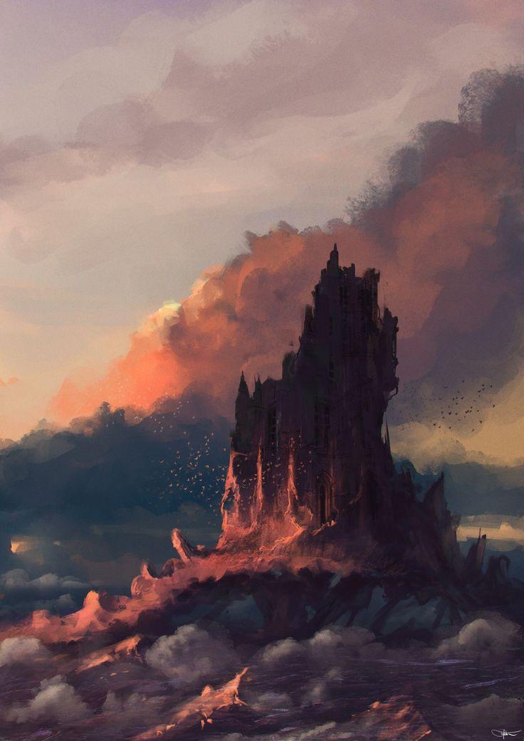 The Art Of Animation, Daniel Tyka Environment, Daniel Tyka, Digital Art Fantasy