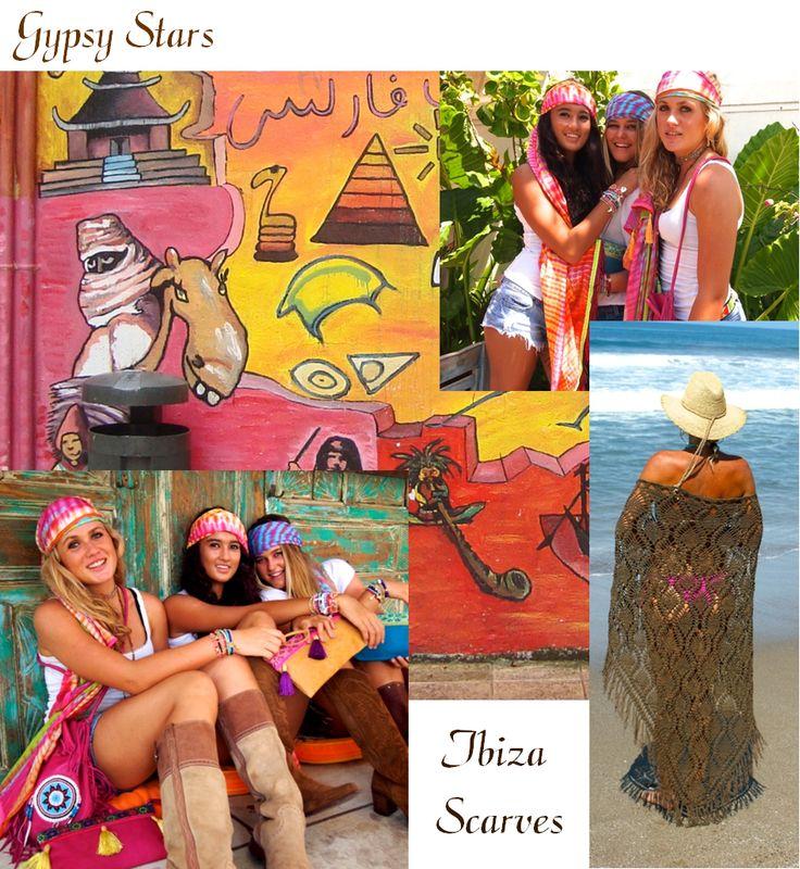 Colorful INDY Ibiza!  #gipsyibizabags #Ibiza scarfs #ibizalook #fringe bags www.indyibiza.com