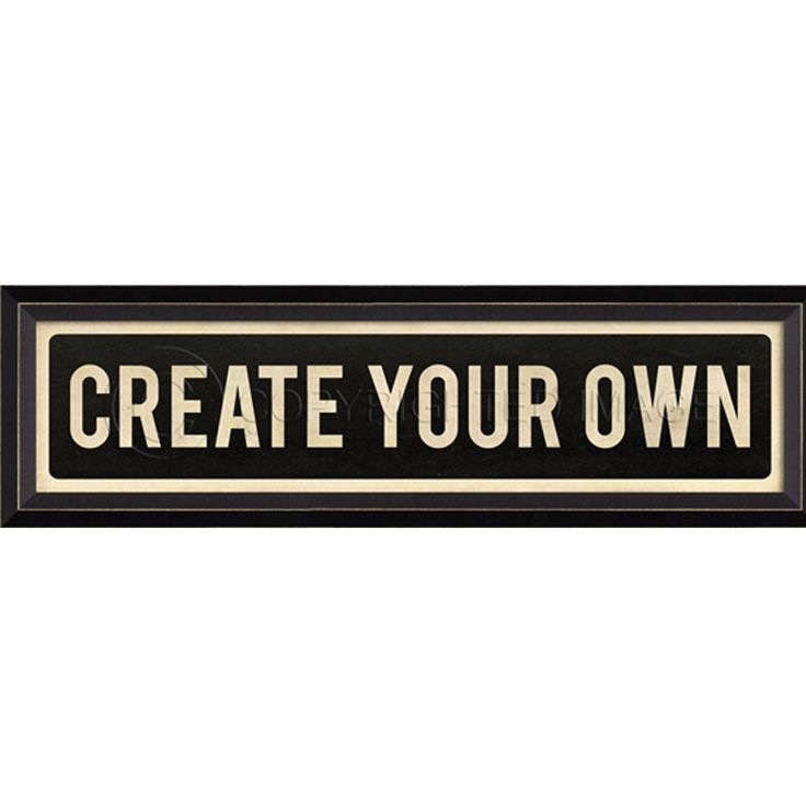 Street Sign Wall Decor Create Your Own Products