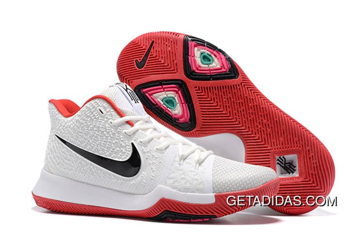 http://www.getadidas.com/nike-kyrie-irving-3-shoes-white-black-red-topdeals.html NIKE KYRIE IRVING 3 SHOES WHITE BLACK RED TOPDEALS Only $87.12 , Free Shipping!