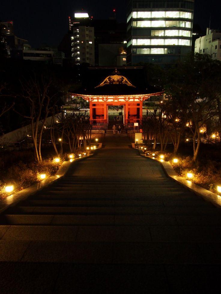 旧台徳院霊廟惣門(増上寺) /  Zojoji Temple,Tokyo,Japan