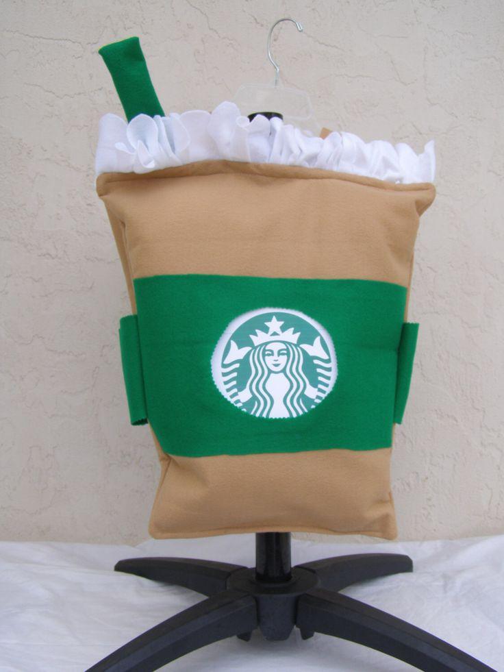 Starbucks Halloween Costume Starbucks Frappuccino Costume NO tripping or Choking  hazards Toddler Costume Halloween FAST shipping by Thecostumestop on Etsy https://www.etsy.com/listing/479320573/starbucks-halloween-costume-starbucks