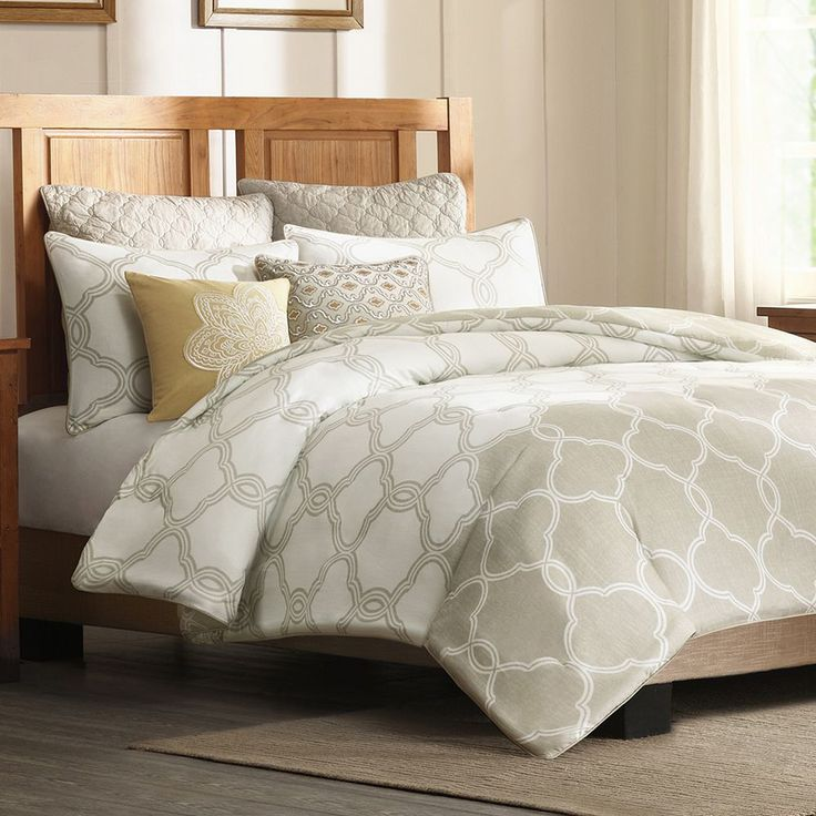 HH Gentry 300-Thread Count Sateen Duvet Cover Collection
