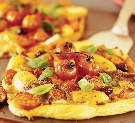 Light, fresh-flavoured vegetarian snacks