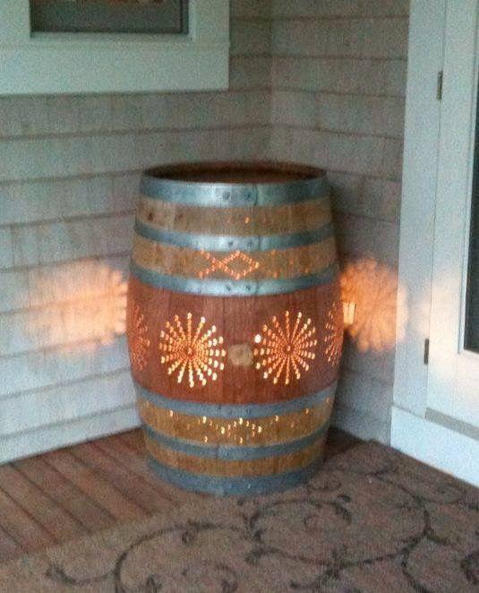 35 Best Wine Barrel Decor Images On Pinterest Wine