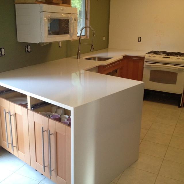 Beautiful Thassos White Chroma Quartz Countertops Http://www.innovatestones.com |  Innovate Stones Kitchen And Bath Countertops | Pinterest | Quartz  Countertops And ...