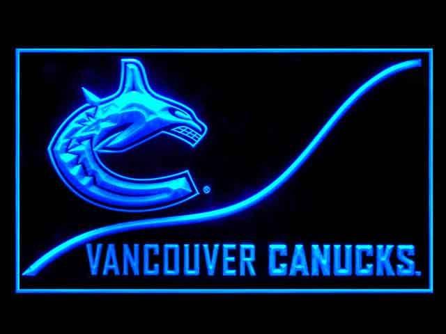 Vancouver Canucks Cool Display Shop Neon Light Sign