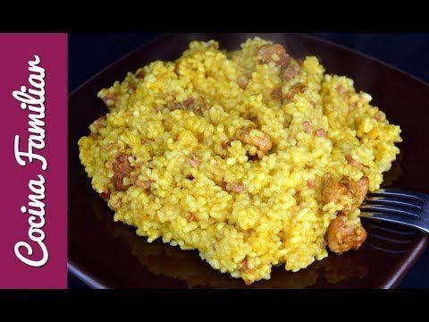 Paella de arroz para niños | Recetas caseras de Javier Romero paso a paso - YouTube