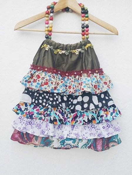 Frilly Dilly Bag  Frilly Ruffled Chiffon decorated #naturalbag#Ecofriendlybag#backpac #bohobackpack#drawstringbackpack#upcycledrecycled #slouchybackpack#specialdesignbag#bucketbackpack#upcycledjacketbag