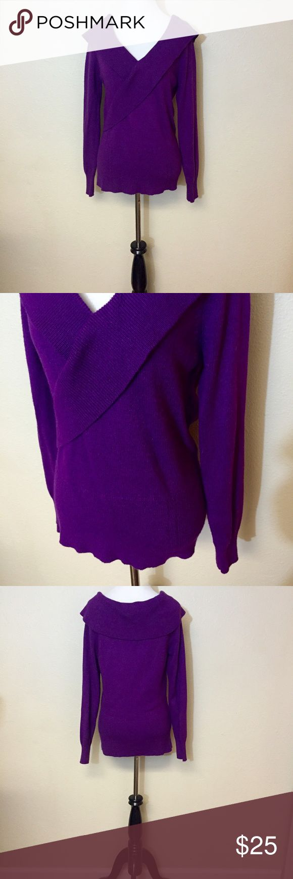 Gorgeous purple sweater | Bright purple, White house black and ...