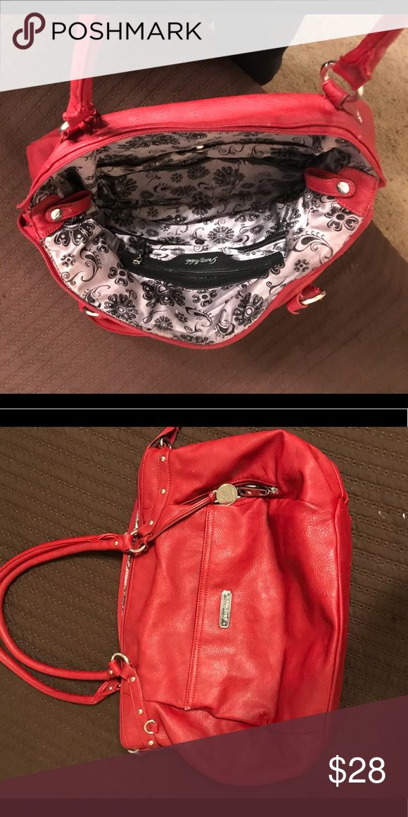 Red grace adele bag/purse Great purse! Some slight wear on the inside.. perfect outside Accessories