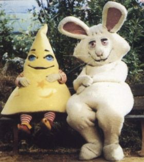 Wizbit: ha ha this-a-way, ha ha that-a-way......  - This used to freak me out, but I loved it anyway!
