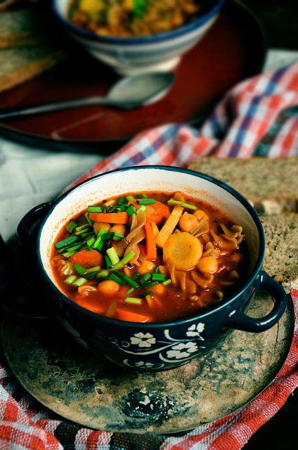 I adore cinnamon- subiektywny blog kulinarny o zapachu cynamonu: Rozgrzewająca zupa z ciecierzycą