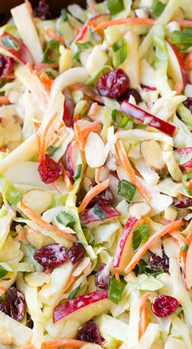 apple cranberry slaw                                                                                                                                                                                 More