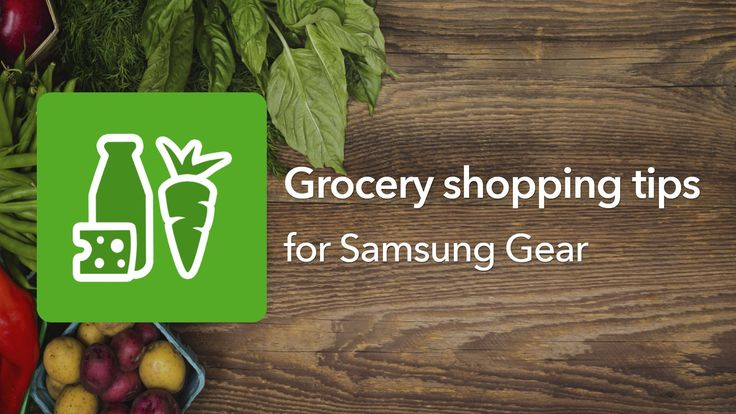 Grocery shopping tips! Listonic shopping list app for Samsung Galaxy Gear #android #googleplay