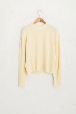 S/S Spring Mini Knit Jumper, Yellow