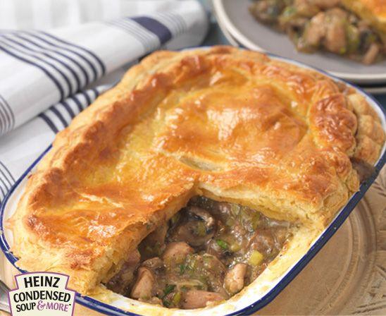 Chicken Leek and Mushroom Pie | Pies And Tarts | Pinterest
