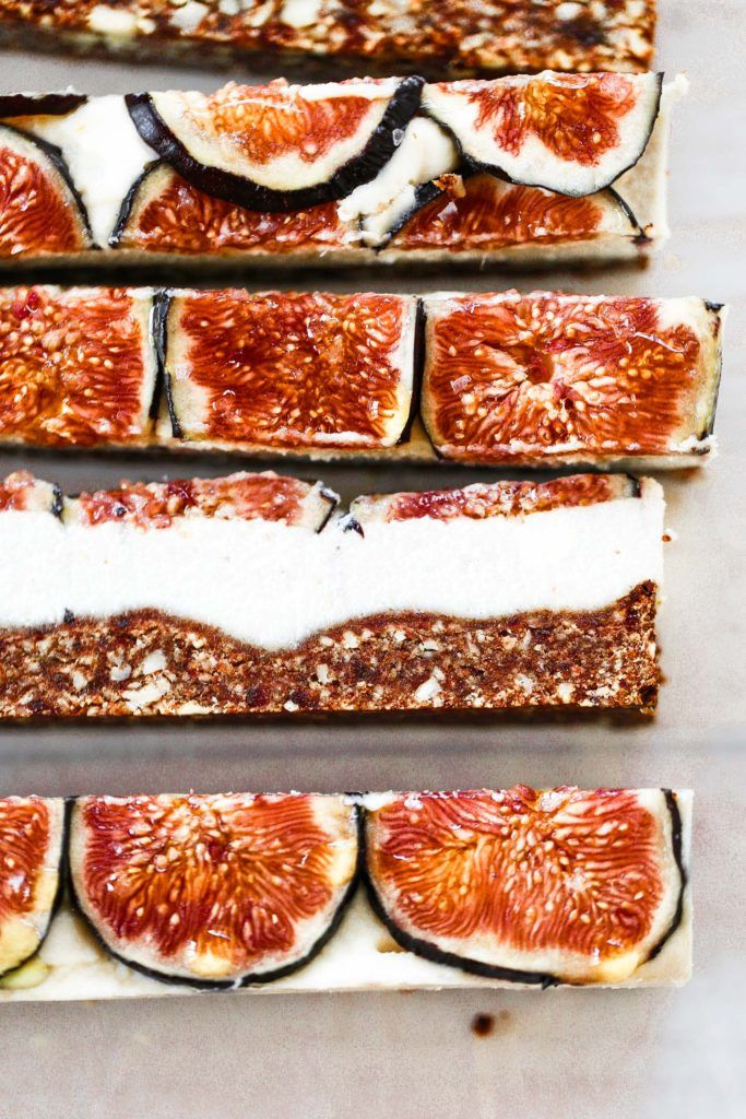 "Easy vegan paleo fig and honey cheesecake with a delicious crisp ""graham cracker"" crust. Gluten free and so super easy to make! Freezer friendly, but not a necessity! dairy free cheesecake recipe. Raw paleo cheesecake recipe. No bake cashew cheesecake. Best gluten free vegan cheesecake. Raw paleo cheesecake recipe. No bake cheesecake recipe. Paleo cream cheese. Best paleo dessert recipes. Healthy paleo cheesecake fig cheesecake. ."