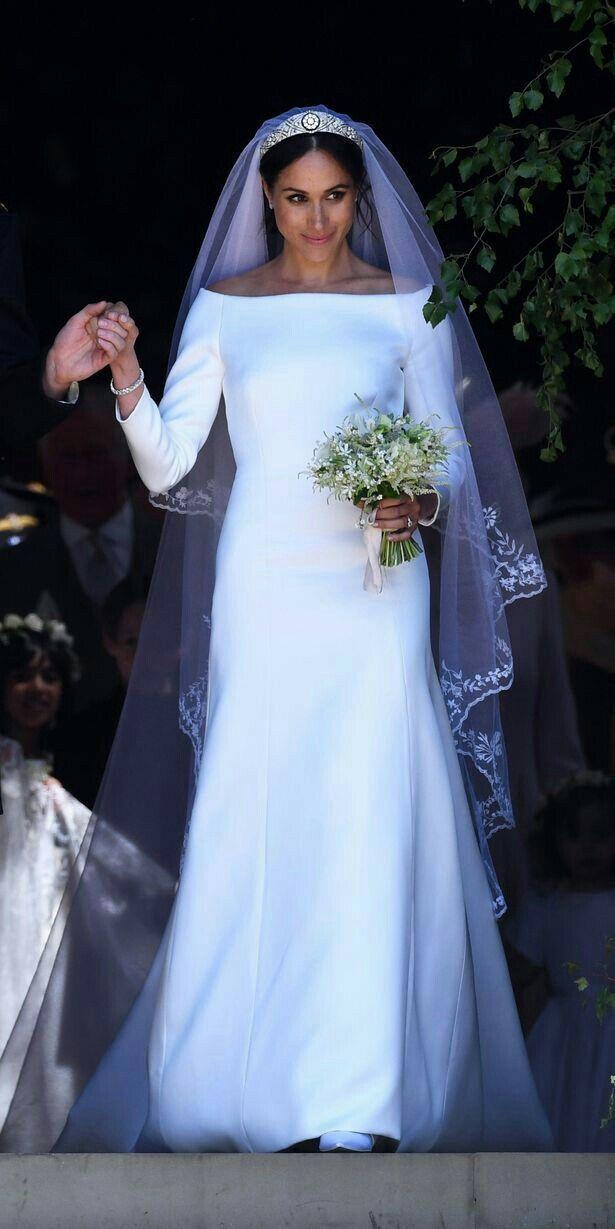 Embroidery On Meghan S Veil Meghan Markle Wedding Dress Givenchy Wedding Dress Wedding Dresses