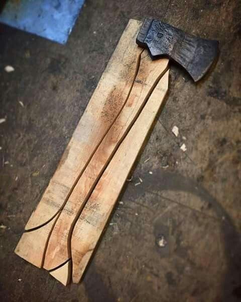 Pin by Keven Walters on Viking Axe Handles | Blacksmithing knives, Axe handle, Wood tools