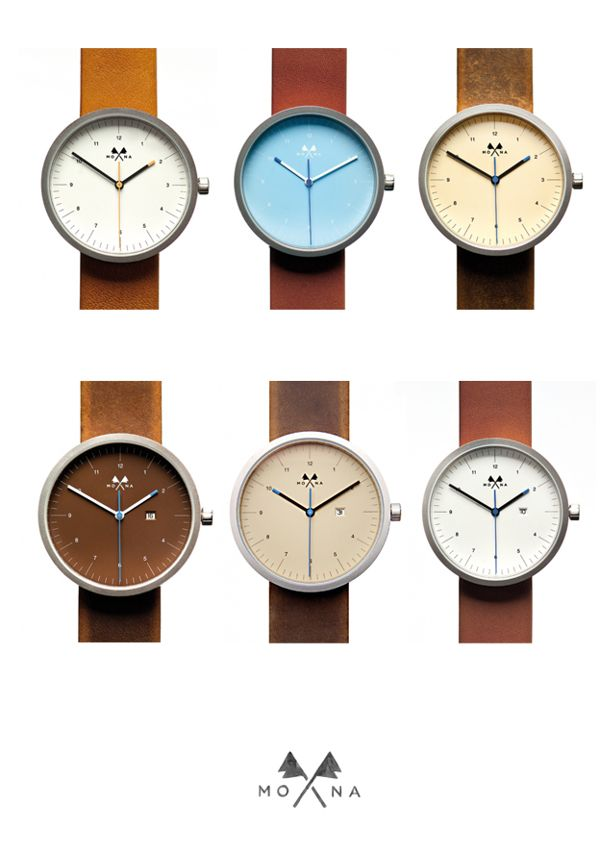 yes please. Mona Watches by BMD ..., via Behance | Raddest Men's Fashion Looks On The Internet: http://www.raddestlooks.net