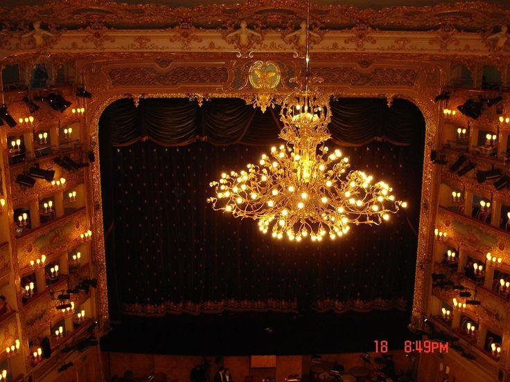 Teatro La Fenice Photo:©Lillemor Brink