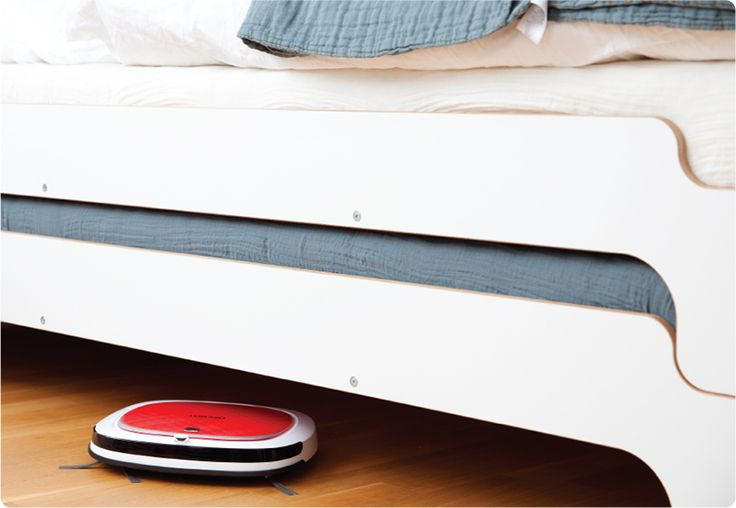 Lowest-Profile | With a height of less than 2.25 inches (5.7 cm), D35 is a low profile robot that easily finds dust bunnies under the furniture where they hide. Routine cleaning in these areas by D35 easily removes allergy-causing contaminants and doesn't require moving furniture as with traditional vacuum cleaners.