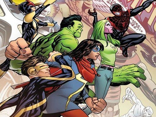 De la Brigada Juvenil a los Campeones: un repaso a los grupos juveniles de Marvel