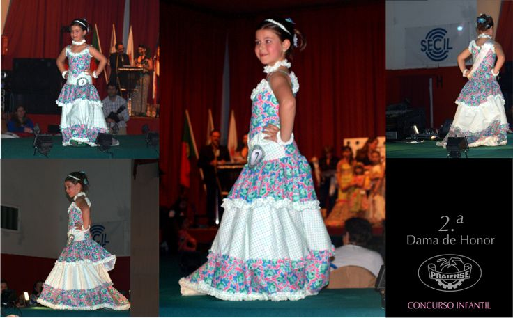 » CONCURSO INFANTIL «  > PRÉMIO 2.ª DAMA DE HONOR  > Candidata : MARIANA CANDEIAS  > Costureira : ANA CAMPIÃO  » JUNIOR CONTEST «  > 2nd RUNNER UP >  Model : MARIANA CANDEIAS  > Dressmaker : ANA CAMPIÃO  (32nd Calico Dress Contest)