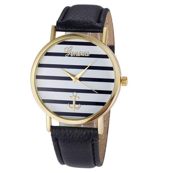La montre tendance 2016. Superbe montre, unique en son genre. Mouvement à trois aiguilles.  Un jolie montre qui sublimera vos poignets en un clin d'oeil!!!  La montre parfaite pour cet été!  Emballage cadeau offert!