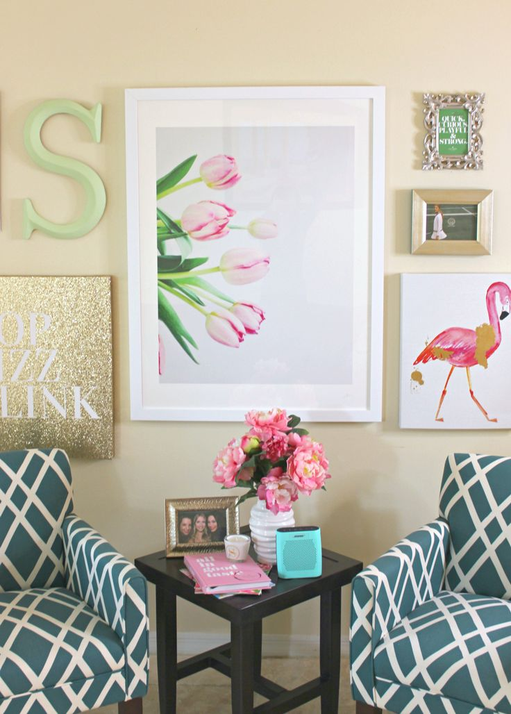 Add a touch of Spring to your home decor with a wall art print from Minted.