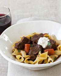cooker beef goulash -- This warming eastern European short rib stew ...