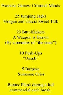 Criminal Minds Workout Game