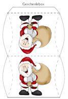 FREE printable Advents Calendar Boxes / Adventskalender basteln