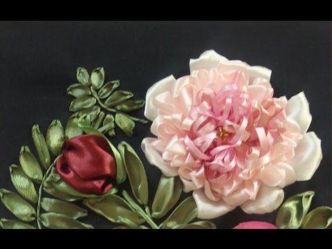 """Вышивка лентами от Разживаловой Натальи. Данное видео дублирует видео мастер-класс """"Вышивка розы"""", в котором были небольшие технические накладки. Вы можете у..."""