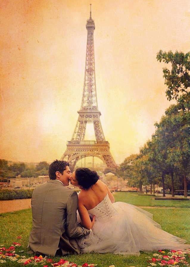 Destination wedding : Paris !!  Photo Inspiration <3