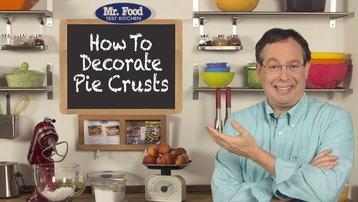 So dekorieren Sie Pie Crust / #Crust #Decorate #Pie
