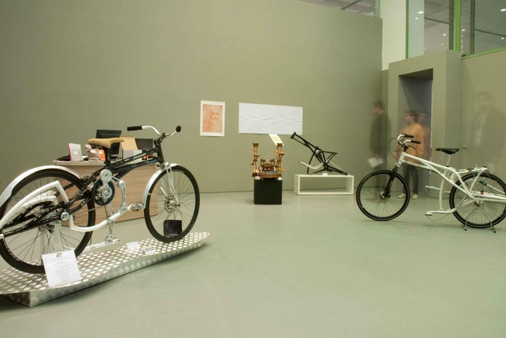 Twist Bike Atlantic at Triennale Milan.