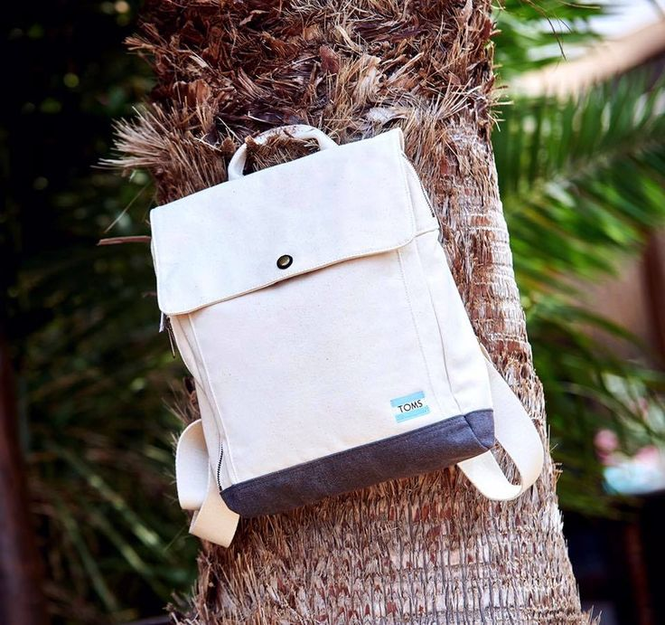 #TOMS backpack: utility meets comfort & style!