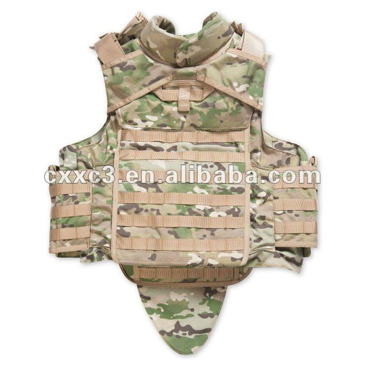 Camouflage Bulletproof Vest
