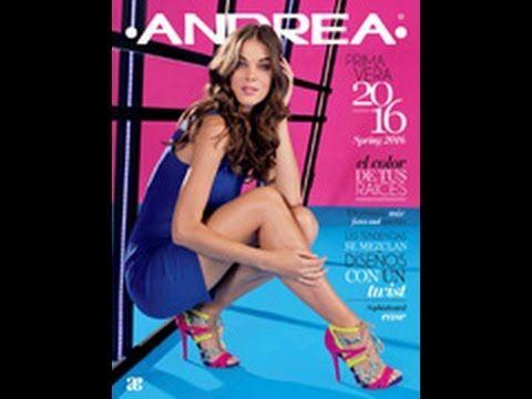 sandalias Andrea catalogo verano 2016 ( Nuevo) - YouTube