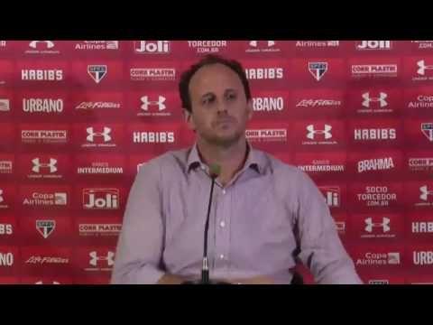 CAnadauenCE tv: Coletiva pós jogo de Rogério Ceni - Linense 0x2 Sã...