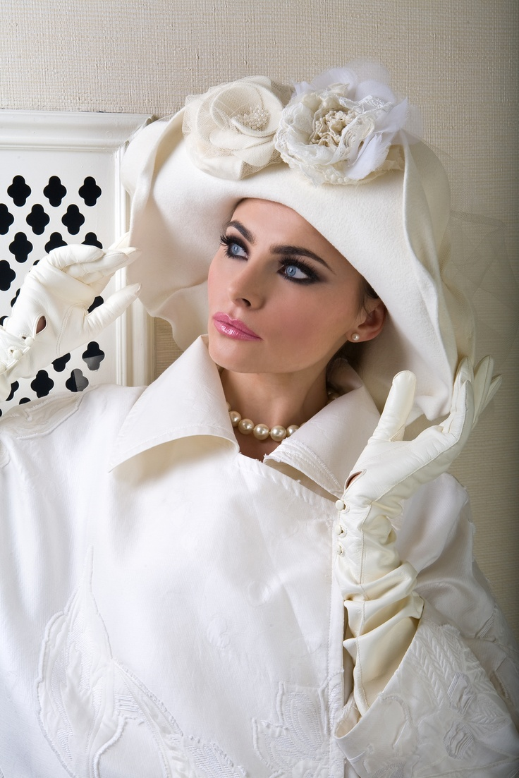"""Russian Winter"" hat by Anya Caliendo.   Oh in my dreams!   